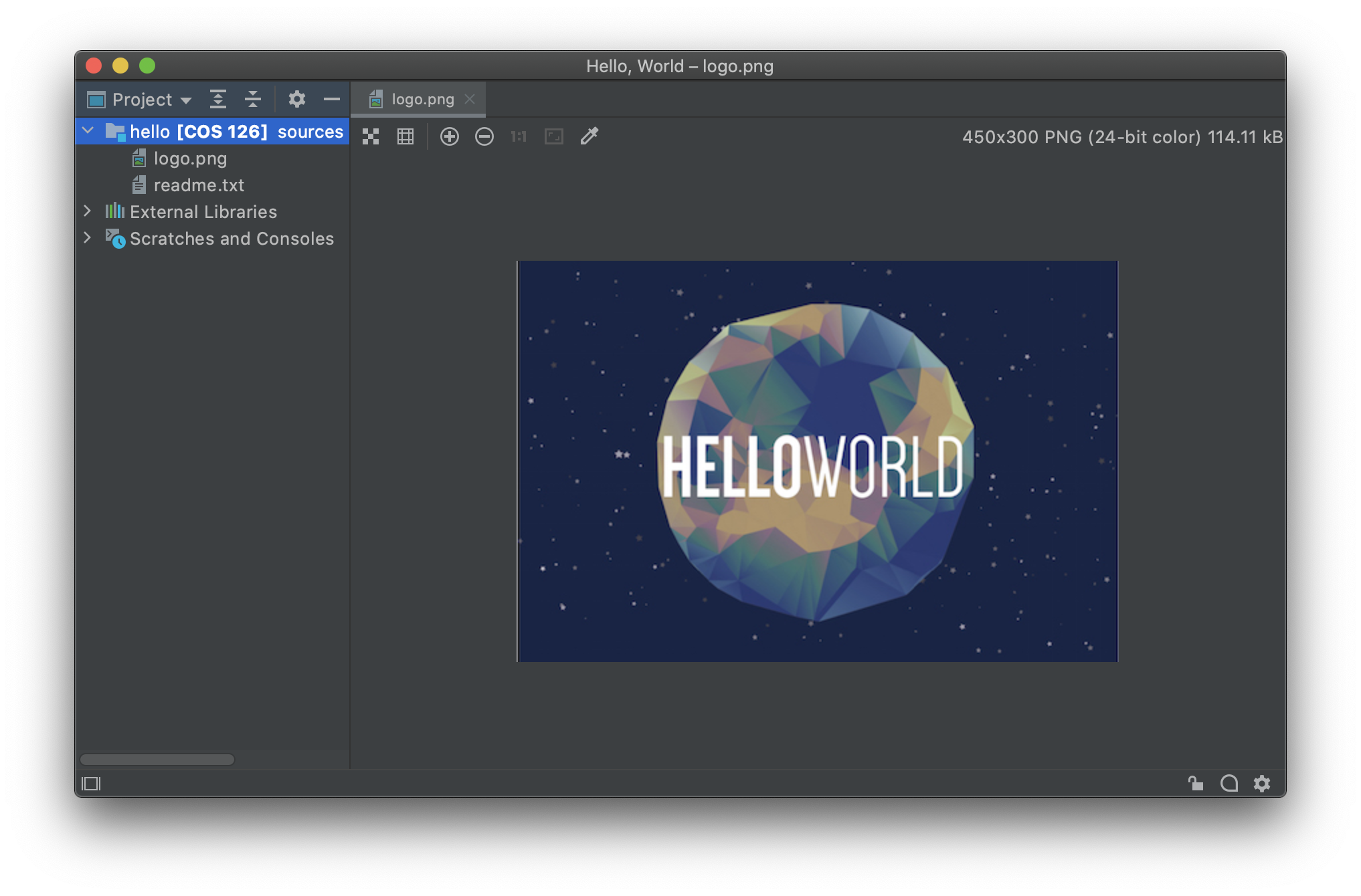 Hello World in Java (Mac OS X)